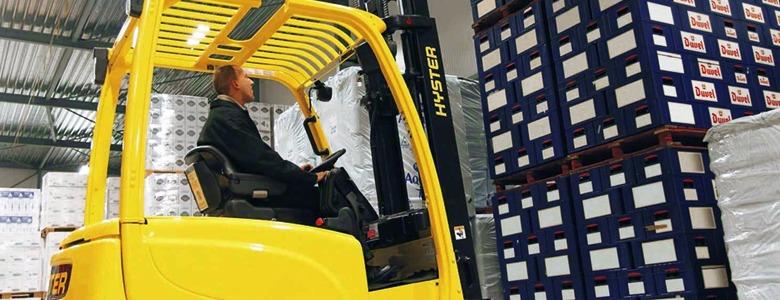 Forklift operation