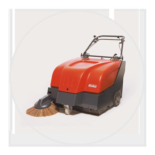 Sweepmaster B800 Pedestrian Sweeper