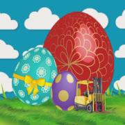 Hitec Lift Trucks Great Easter Egg Giveaway
