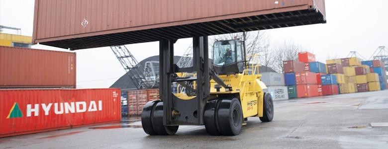 Hyster Laden Container Handler